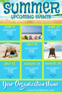 Upcoming Summer Events