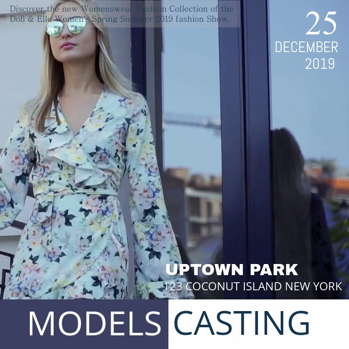 Uptown Fashion Show Ad