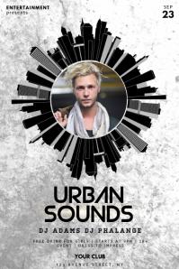 Urban Event Flyer Template