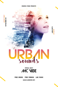 Urban Music Flyer