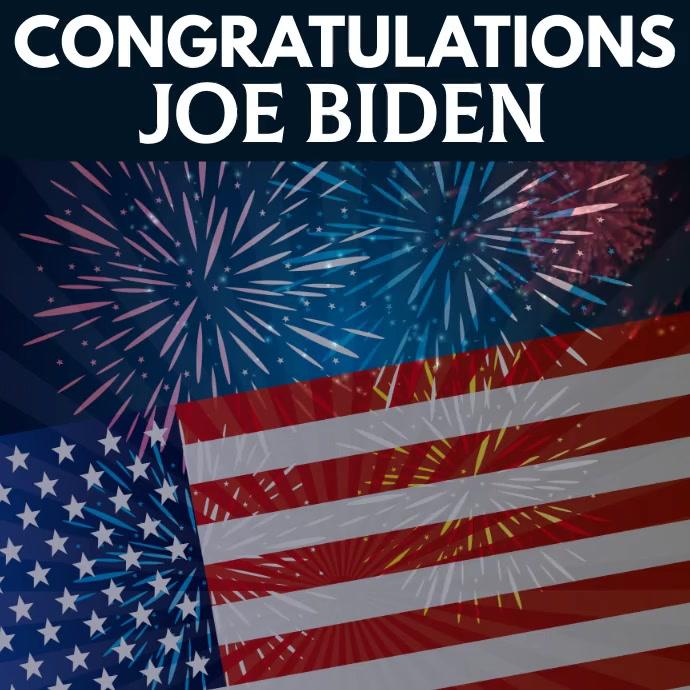 US Election 2020 Template Publicación de Instagram