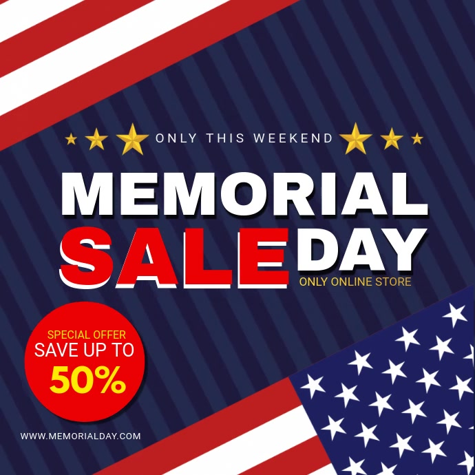 US Flag Memorial Day Sale Ad