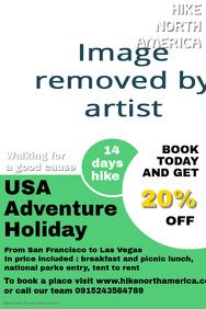 USA hiking