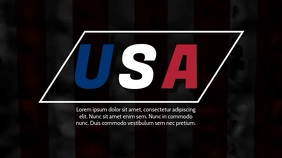 USA video ad template