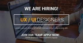 UX / UI Hiring Facebook Ad Template