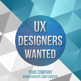 UXgners wanted video ad