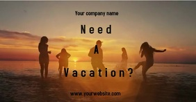 Vacation Ad template