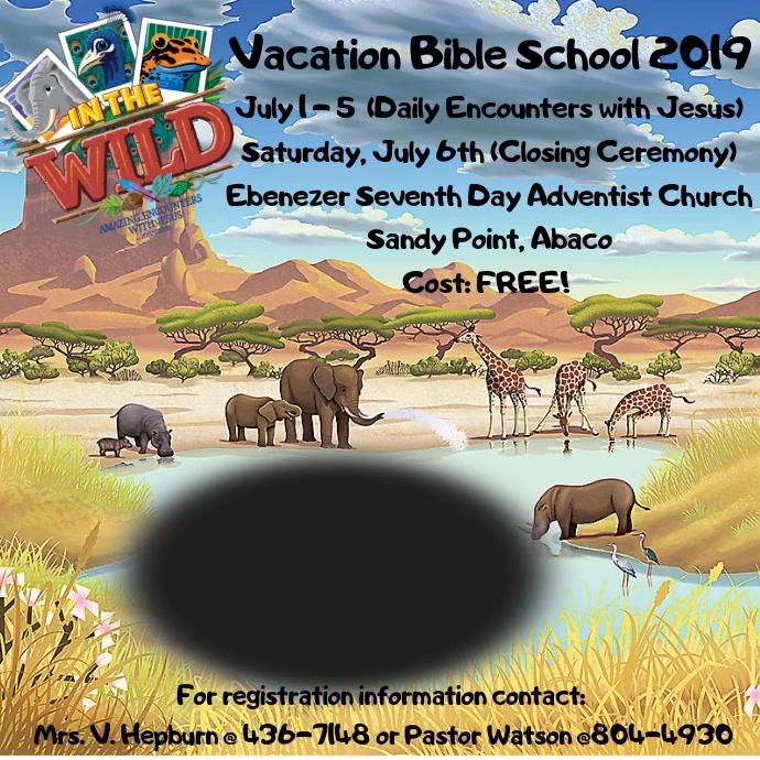 Vacation Bible School 2019