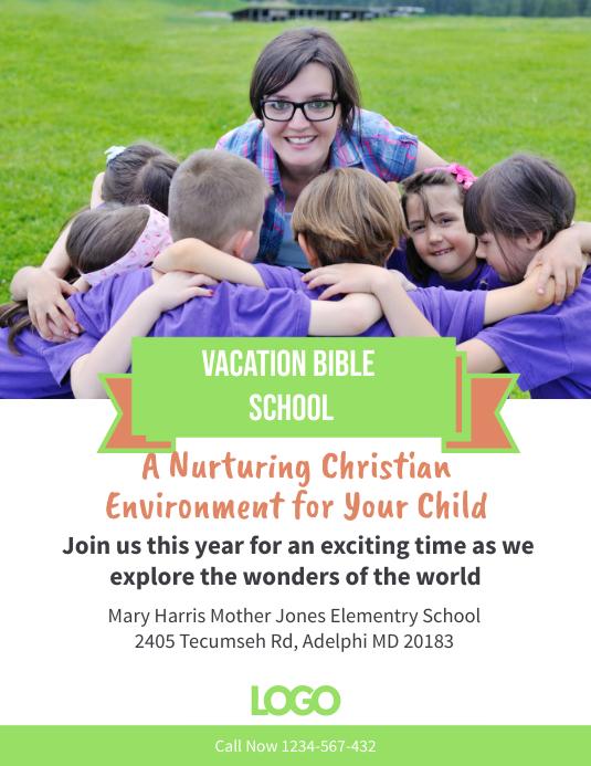 Vacation Bible School Template