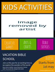 Vacation Bible School Template
