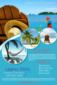 Travel Poster Templates PosterMyWall - Tourism flyer template