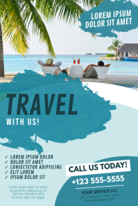 Vacation Flyer Template Poster