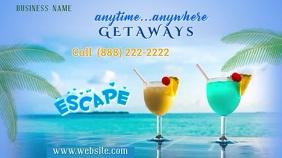 Vacation Getaways Digital Display