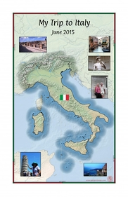 Vacation Map of Italy