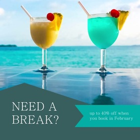 Vacation Travel Agent Advert