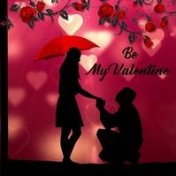 valentine's, event, romantic Post Instagram template