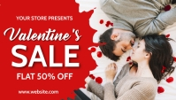valentine's, event, romantic Header Blog template