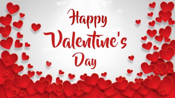 valentine's, romantic, event Сообщение Twitter template
