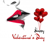 valentine's, romantic, event Instagram na Post template