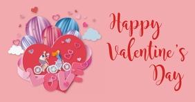 valentine's, romantic, event Isithombe Esabiwe ku-Facebook template