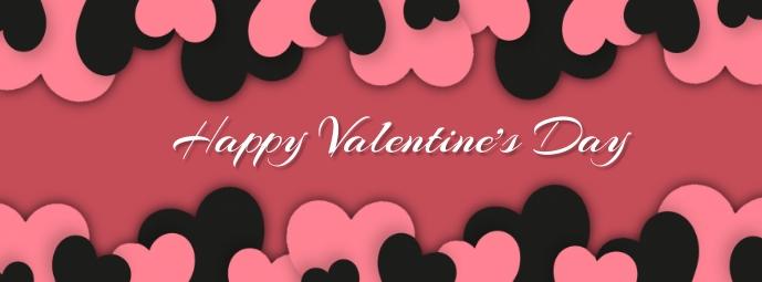 valentine's, romantic, event Facebook-coverfoto template