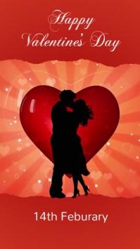 valentine's, romantic, event Instagram-verhaal template