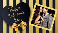 valentine's, romantic, event Header ng Blog template