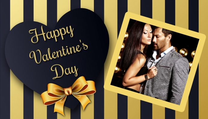 valentine's, romantic, event 博客标题 template