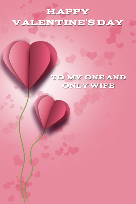 Valentine S Card Template Postermywall
