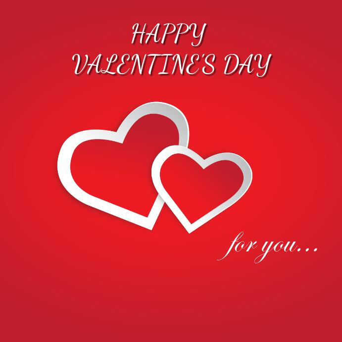 Valentine's Card Template