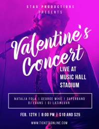 Valentine's Concert Flyer