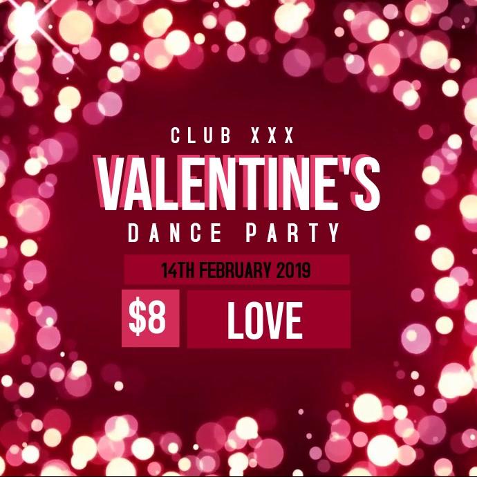 Valentine's dance party video