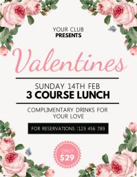 Valentine's day, valentine, valentine lunch