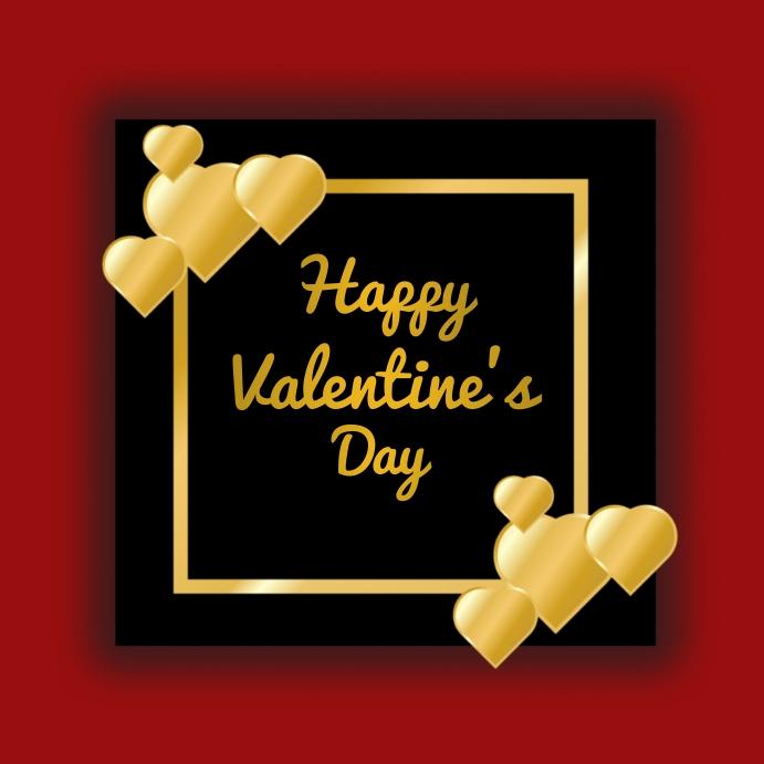 Valentine's day,valentine, event Instagram-opslag template