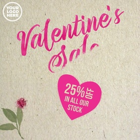 Valentine's Day 25% Off Sale Video