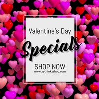 valentine's day advert video promo shopping sale hearts