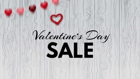 valentine's day advert video promo shopping sale hearts wood