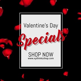 valentine's day advert video promo shopping sale roses
