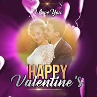 valentine's day card cards online Message Instagram template