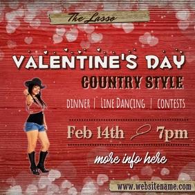 Valentine's Day County Video