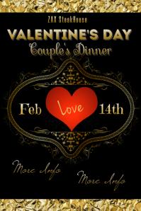 Valentine's Day Couple's Dinner
