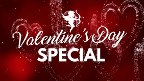 Valentine's Day Cover Video Advert Hearts Ad