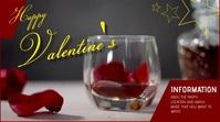 Valentine's day Pantalla Digital (16:9) template