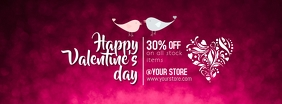 Valentine's Day Facebook-coverfoto template