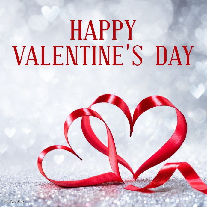 valentine's day Сообщение Instagram template