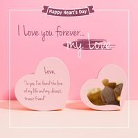 Valentine's Day Publicación de Instagram template