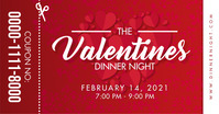 Valentine's Day Dinner Coupon Facebook Post T template
