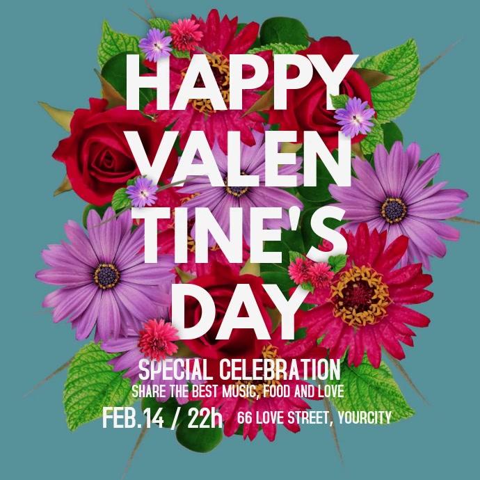 Valentine's Day Event Flyer