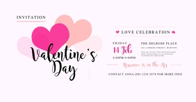 Valentine's Day Facebook Shared Image template