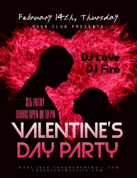Valentine's Day Flyer/Poster Template